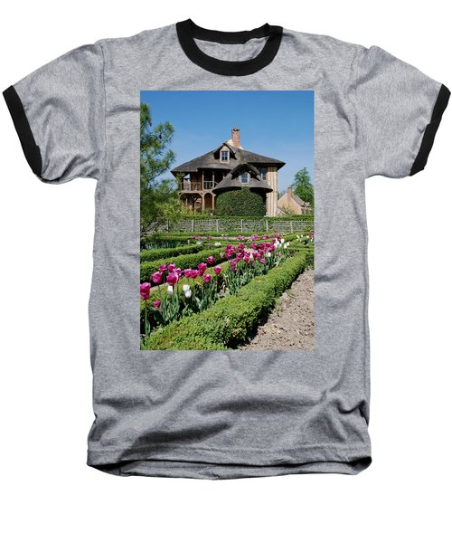 Baseball T-Shirt featuring the photograph Lovely Garden And Cottage by Jennifer Ancker