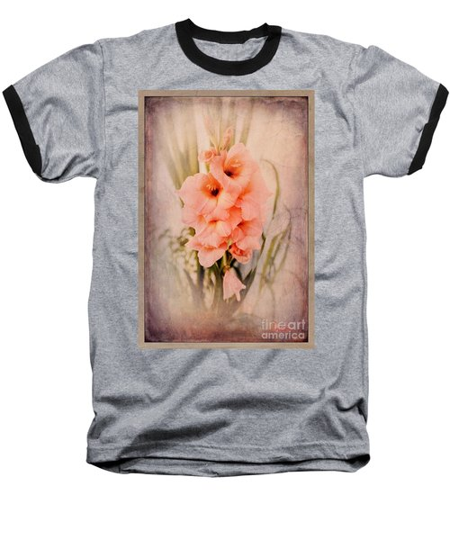 Lovely Gladiolus Baseball T-Shirt