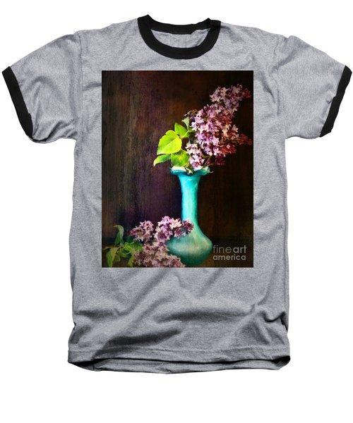 Lovely Lilacs Baseball T-Shirt
