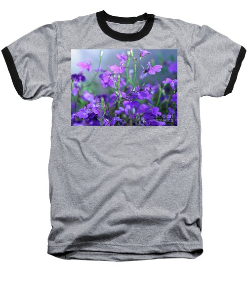 Lovely Lobelia Baseball T-Shirt