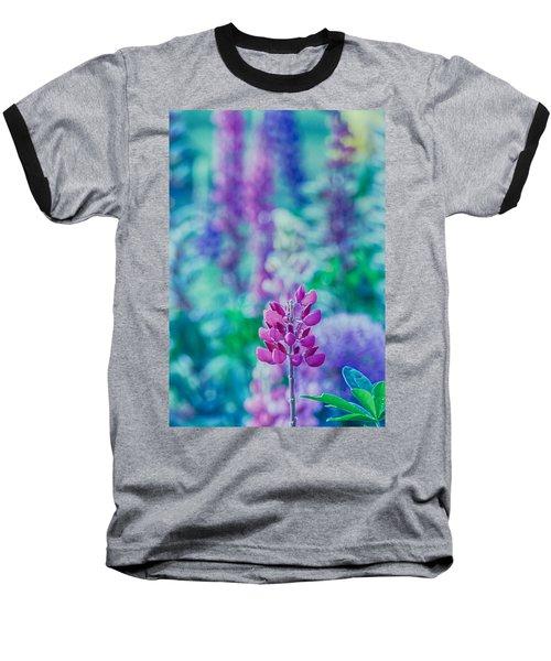 Lovely Lupine Baseball T-Shirt