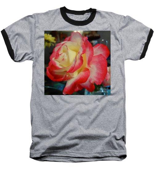 Lovely Rose Baseball T-Shirt