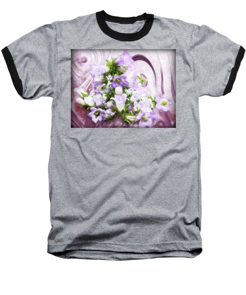 Lovely Spring Flowers Baseball T-Shirt by Gabriella Weninger - David