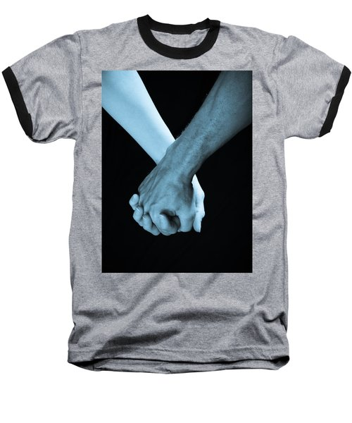 Lovers Hands Baseball T-Shirt