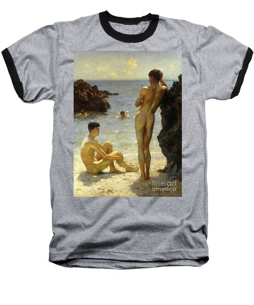 Lovers Of The Sun Baseball T-Shirt