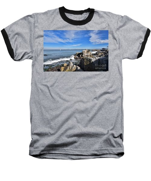 Lovers Point Park Baseball T-Shirt by Gina Savage