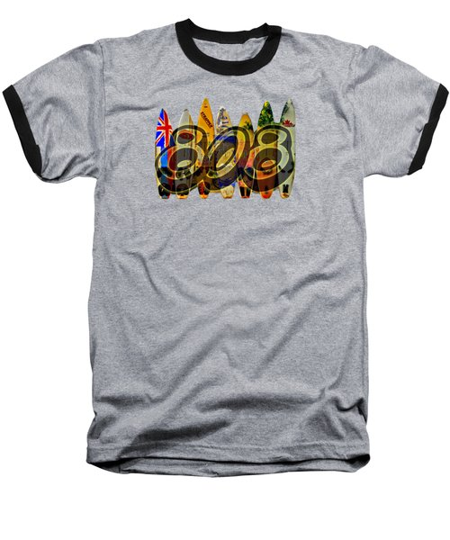 Lovin' 808 Baseball T-Shirt by DJ Florek