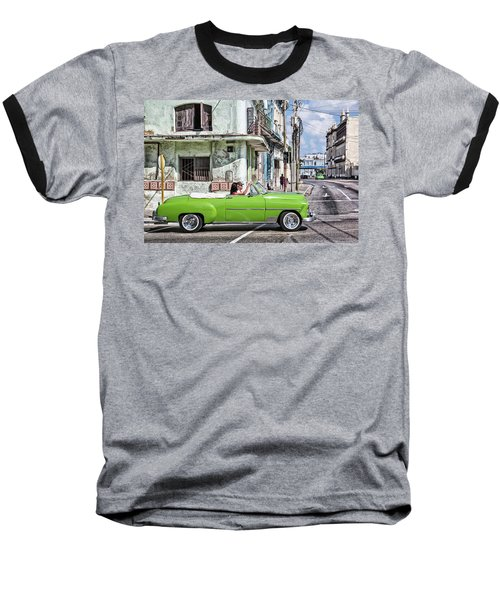 Lovin' Lime Green Chevy Baseball T-Shirt