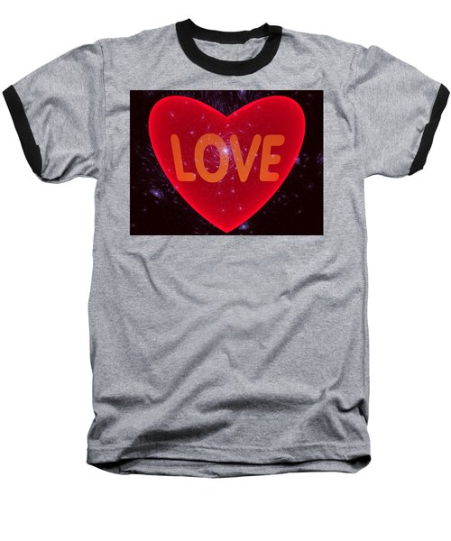 Loving Heart Baseball T-Shirt