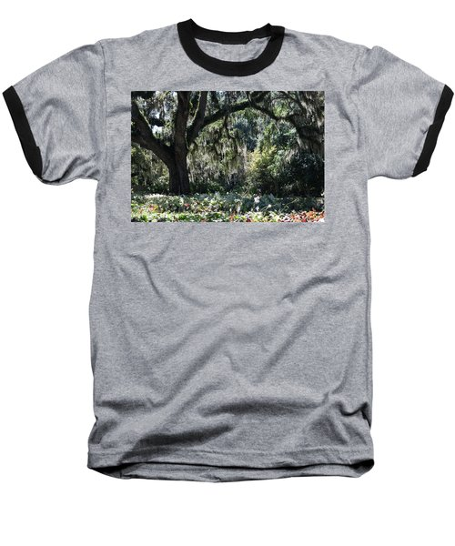 Baseball T-Shirt featuring the photograph Low Country Series II by Suzanne Gaff