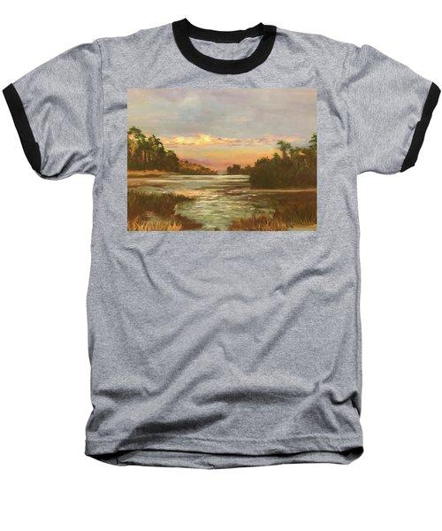 Low Country Sunset Baseball T-Shirt