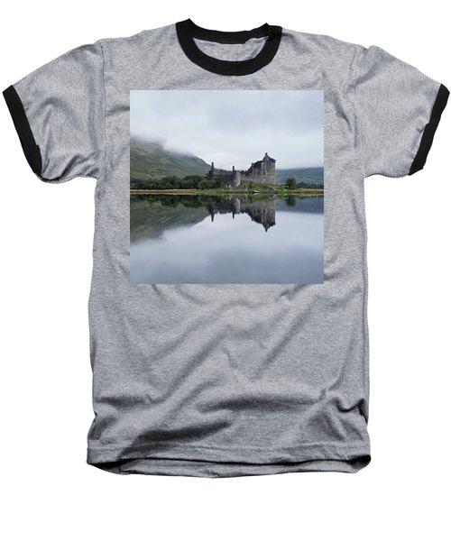 Low Mist At Kilchurn Baseball T-Shirt