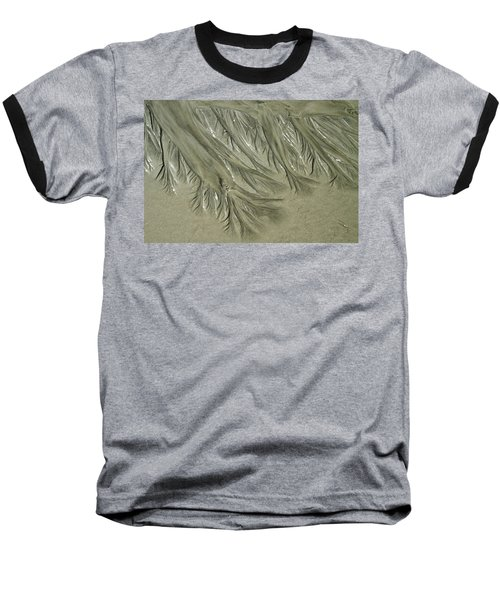 Low Tide Abstracts Iv Baseball T-Shirt