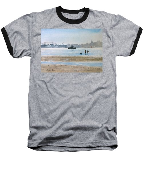 Low Tide At Rose Bay Baseball T-Shirt