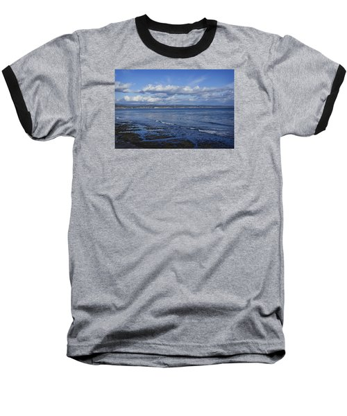 Low Tide At The Hook, Santa Cruz Ca Baseball T-Shirt