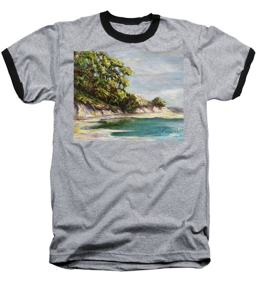 Low Tide Beach Baseball T-Shirt