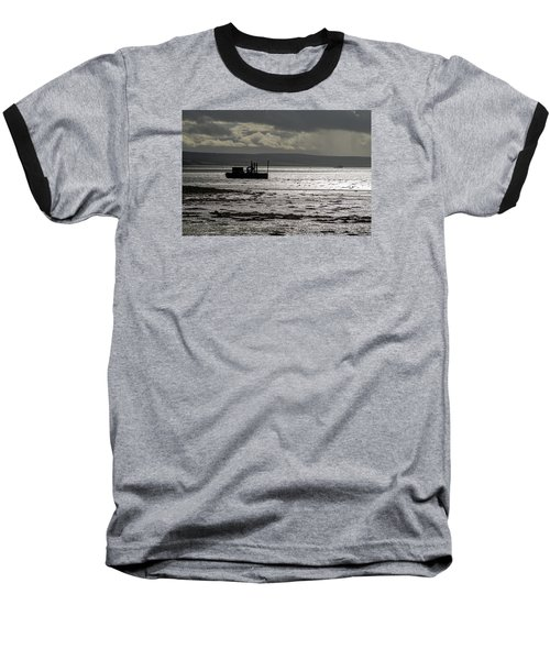 Baseball T-Shirt featuring the photograph Low Tide In Isle Of Skye by Dubi Roman