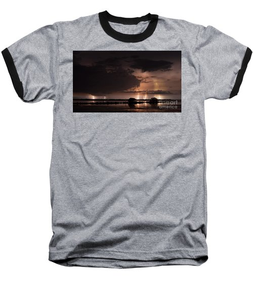 Low Tide With High Energy Baseball T-Shirt