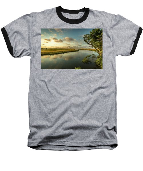 Pitt Street Bridge Creek Sunrise Baseball T-Shirt