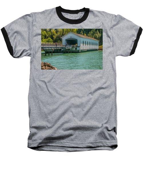 Lowell Covered Bridge Baseball T-Shirt