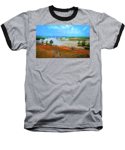 Lower Basin Baseball T-Shirt by Mark Dunton