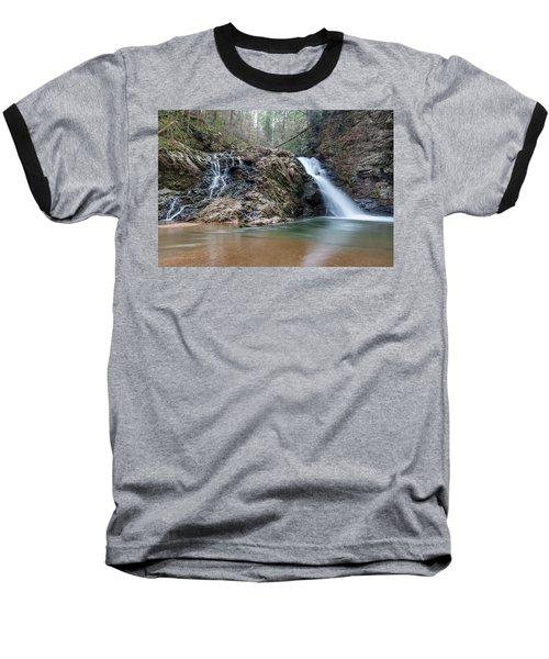 Lower Brasstown Falls Baseball T-Shirt