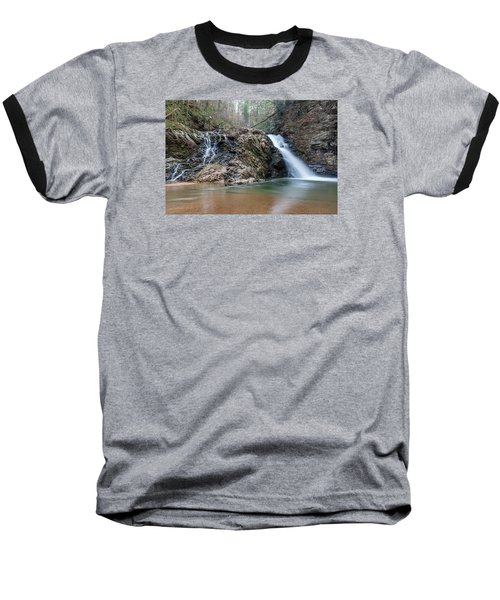 Lower Brasstown Falls Baseball T-Shirt