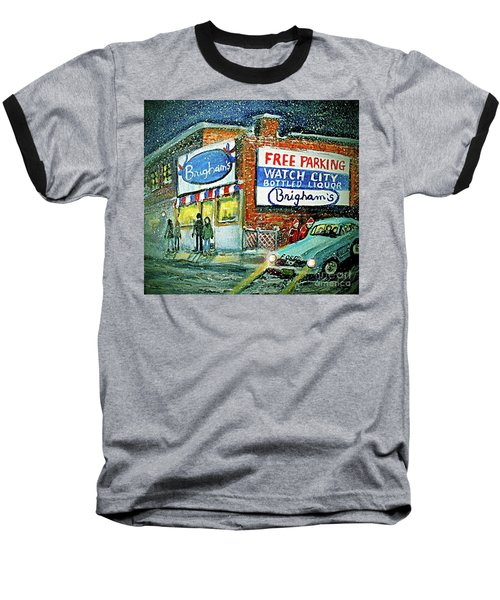 Lower Brigham's Baseball T-Shirt by Rita Brown