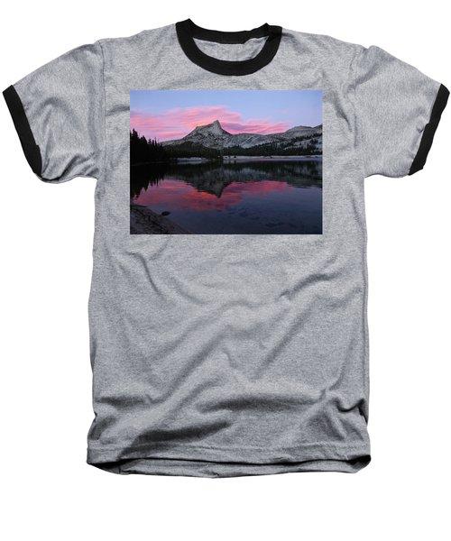 Lower Cathedral Lake Sunset Baseball T-Shirt