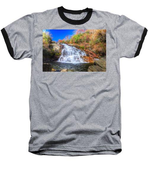 Lower Falls At Graveyard Fields Baseball T-Shirt