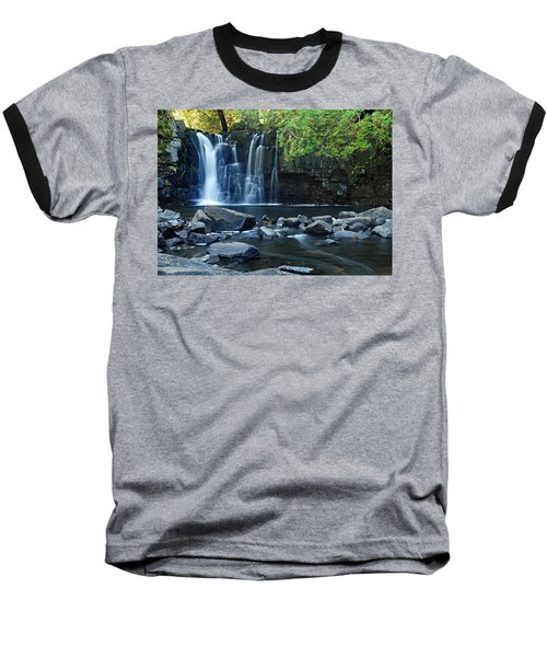 Lower Johnson Falls Baseball T-Shirt