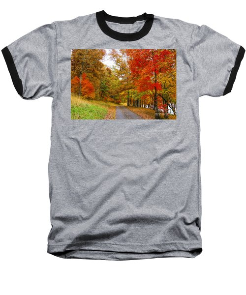 Lower Lake Loop Trail Baseball T-Shirt