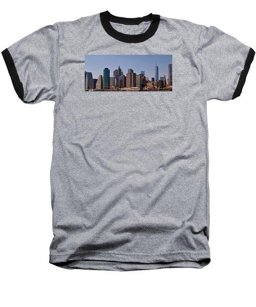 Lower Manhattan Nyc #2 Baseball T-Shirt