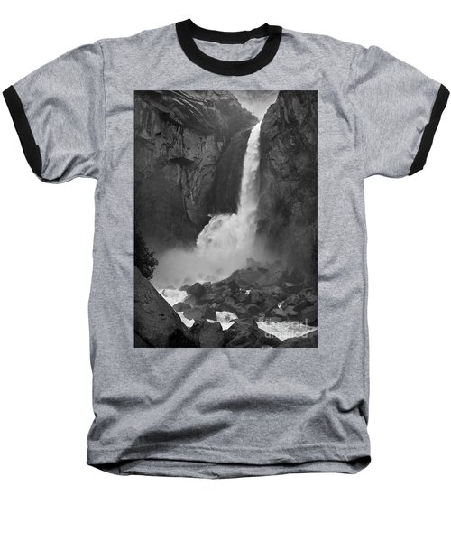 Baseball T-Shirt featuring the photograph Lower Yosemite Falls by Martin Konopacki