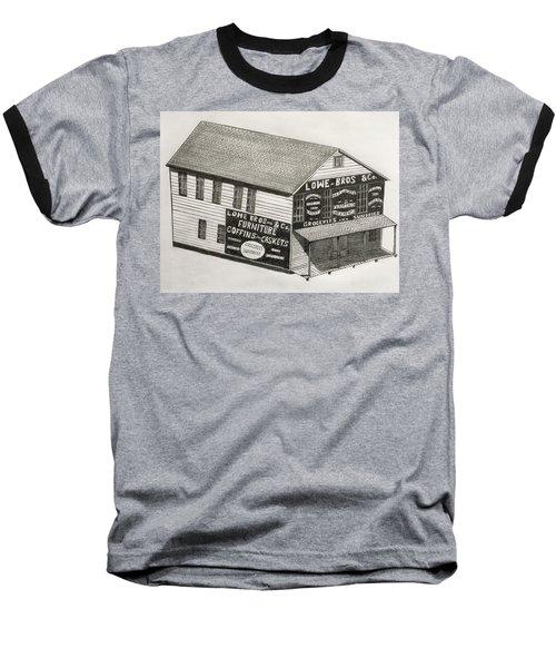 Lowe Brothers Hardware  Baseball T-Shirt by Tony Clark