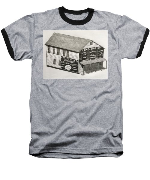 Lowe Brothers Hardware  Baseball T-Shirt