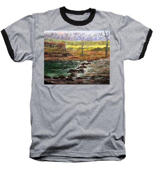 Lowwater Crossing  Baseball T-Shirt
