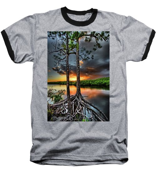 Loxachatchee Sunset Baseball T-Shirt