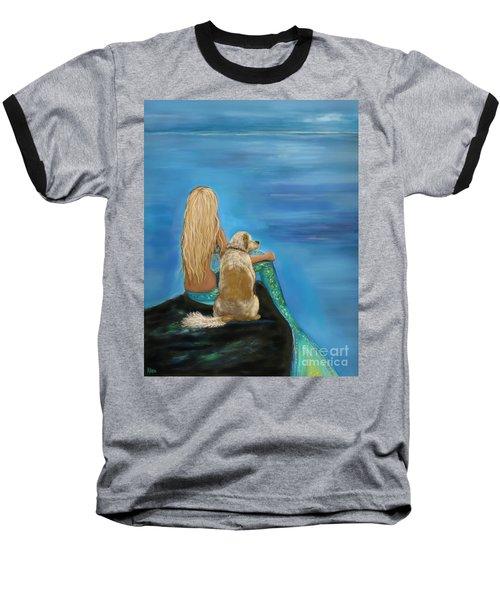 Loyal Mermaids Friend Baseball T-Shirt
