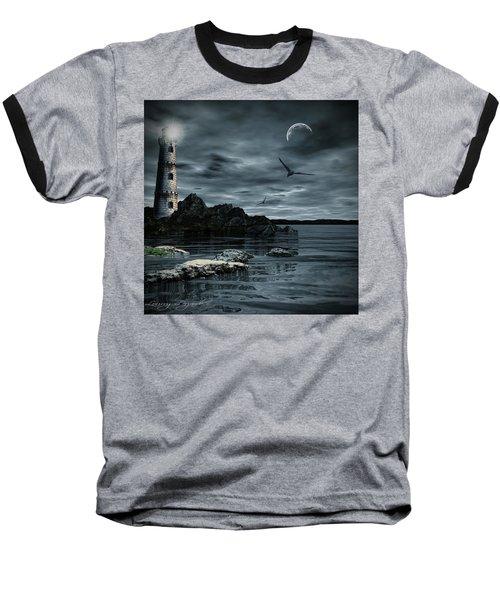 Lucent Dimness Baseball T-Shirt by Lourry Legarde
