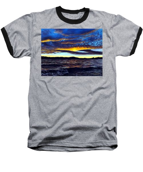 Lucerne Sunset Baseball T-Shirt