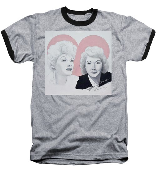 Lucille And Vivian Baseball T-Shirt