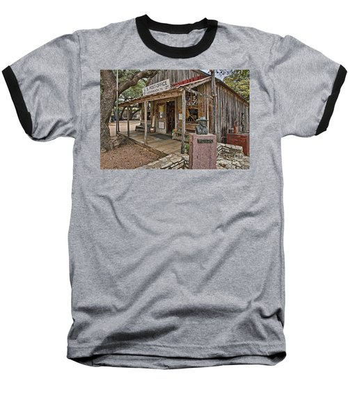 Luckenbach Post Office And General Store_2 Baseball T-Shirt