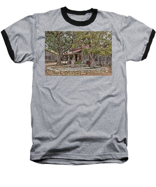 Luckenbach Post Office And General Store_3 Baseball T-Shirt