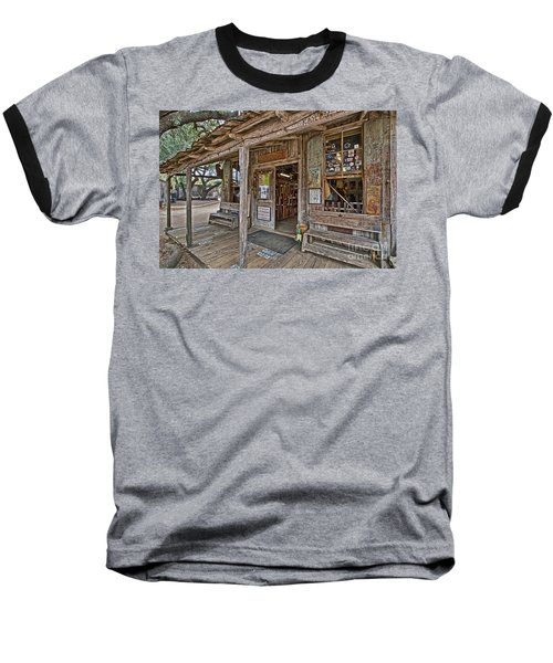 Luckenbach Post Office And General Store_4 Baseball T-Shirt