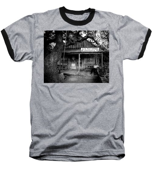 Baseball T-Shirt featuring the photograph Luckenbach Texas by David Morefield