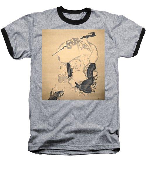 Lucky Gods Hotei Baseball T-Shirt
