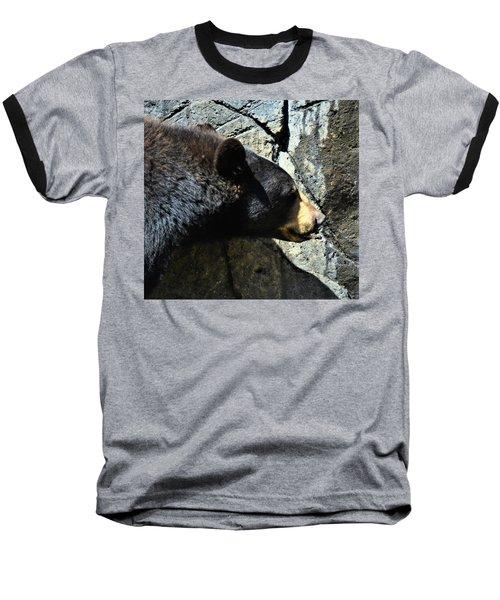 Lumbering Bear Baseball T-Shirt