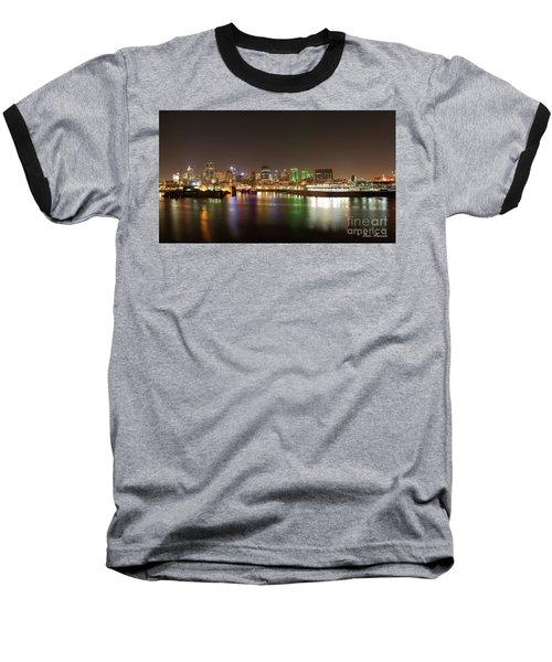 Lumiere De Nuit Baseball T-Shirt
