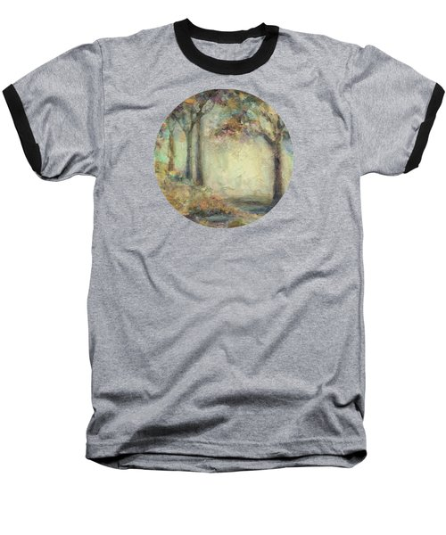 Baseball T-Shirt featuring the painting Luminous Landscape by Mary Wolf